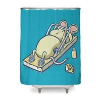 Let's Get Physical - shower-curtain - small view