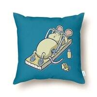 Let's Get Physical - throw-pillow - small view