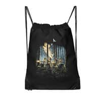 HOT CHICKS ON WOLVES - drawstring-bag - small view