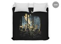 HOT CHICKS ON WOLVES - duvet-cover - small view