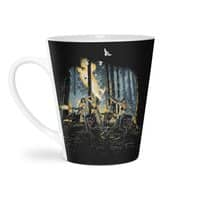 HOT CHICKS ON WOLVES - latte-mug - small view
