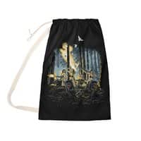 HOT CHICKS ON WOLVES - laundry-bag - small view