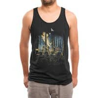 HOT CHICKS ON WOLVES - mens-triblend-tank - small view