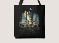 HOT CHICKS ON WOLVES - tote-bag - small view