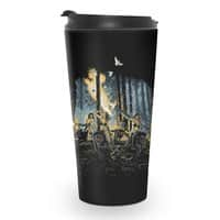 HOT CHICKS ON WOLVES - travel-mug - small view