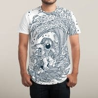 I Only Surf on Comets - mens-sublimated-tee - small view