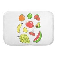 Booty Fruit - bath-mat - small view
