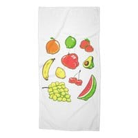 Booty Fruit - beach-towel - small view
