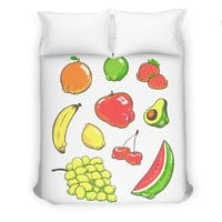 Booty Fruit - duvet-cover - small view