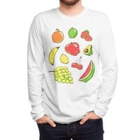 Booty Fruit - mens-long-sleeve-tee - small view