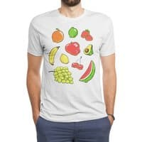 Booty Fruit - mens-triblend-tee - small view