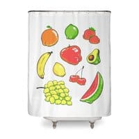Booty Fruit - shower-curtain - small view