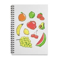 Booty Fruit - spiral-notebook - small view