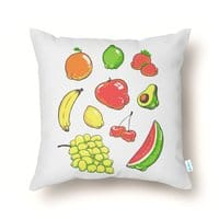 Booty Fruit - throw-pillow - small view