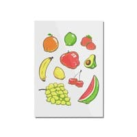Booty Fruit - vertical-mounted-acrylic-print - small view