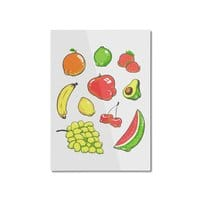Booty Fruit - vertical-mounted-aluminum-print - small view