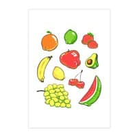 Booty Fruit - vertical-print - small view