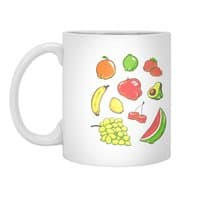 Booty Fruit - white-mug - small view