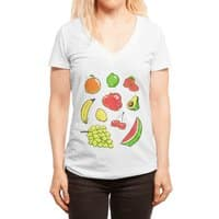 Booty Fruit - womens-deep-v-neck - small view