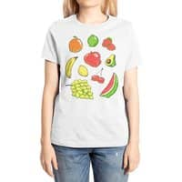 Booty Fruit - womens-extra-soft-tee - small view
