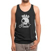 Dead Pirate - mens-triblend-tank - small view
