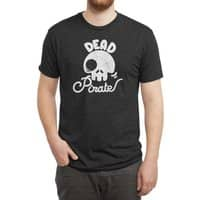 Dead Pirate - mens-triblend-tee - small view