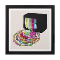 Test Pattern - black-square-framed-print - small view