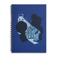 Magic Mushrooms - spiral-notebook - small view