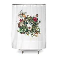Beauty Before Death - shower-curtain - small view