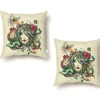Beauty Before Death - throw-pillow - small view
