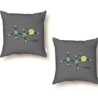 Introduction to Molecular Bonding - throw-pillow - small view