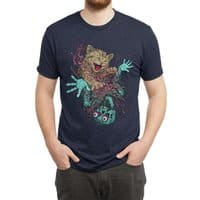 Zombie Nomz - mens-triblend-tee - small view