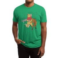 A Very Naughty Bear - mens-triblend-tee - small view