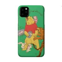 A Very Naughty Bear - perfect-fit-phone-case - small view