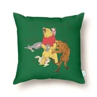 A Very Naughty Bear - throw-pillow - small view