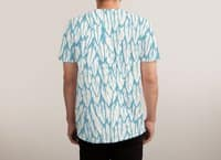 Feathered Fringe - mens-sublimated-triblend-tee - small view