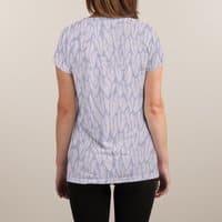 Feathered Fringe - womens-sublimated-v-neck - small view