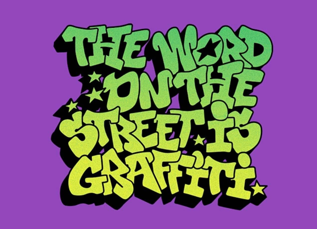 the word on the street is graffiti by josh miller