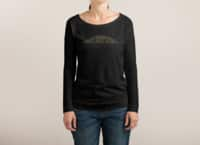 When You Think About It, All Galaxies Are Far, Far, Away - womens-long-sleeve-terry-scoop - small view