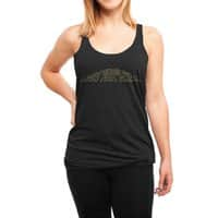 When You Think About It, All Galaxies Are Far, Far, Away - womens-triblend-racerback-tank - small view