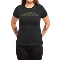 When You Think About It, All Galaxies Are Far, Far, Away - womens-triblend-tee - small view