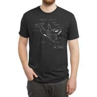 Killer Whale - mens-triblend-tee - small view