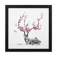 Blooming - black-square-framed-print - small view