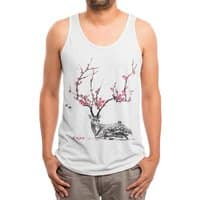 Blooming - mens-triblend-tank - small view