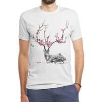 Blooming - mens-triblend-tee - small view
