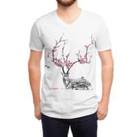 Blooming - vneck - small view