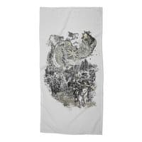 Twenty if by Giant Robot - beach-towel - small view
