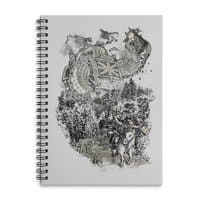 Twenty if by Giant Robot - spiral-notebook - small view