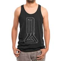 Untitled: Impossible - mens-triblend-tank - small view