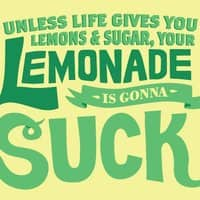 Unless life gives you lemons and sugar, your lemonade is gonna suck - small view